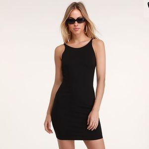 Forever 21 Sexy Bodycon dress with lace on sides